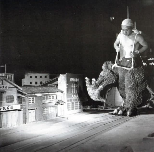 Just the legs of Godzilla